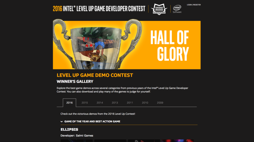 Intel Level Up Award